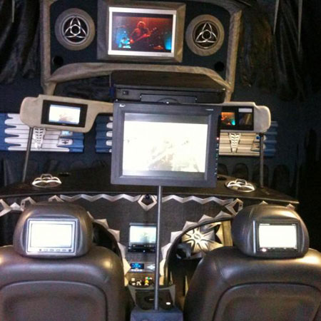 custom vehicle lcd screens