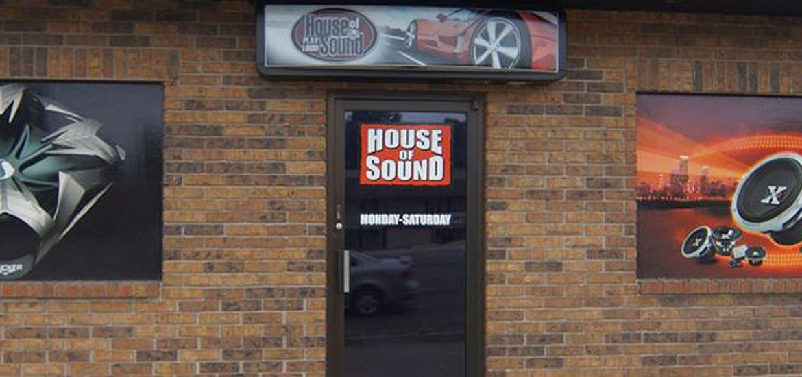 house of sound storefront